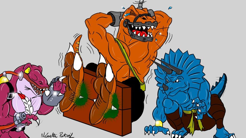 A Bad Raptor's punishment II