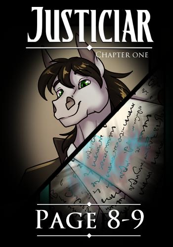 JUSTICIAR – Page 8-9