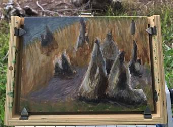 Plein Air Cypress Knees