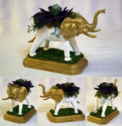 Elephant Planter Centerpiece