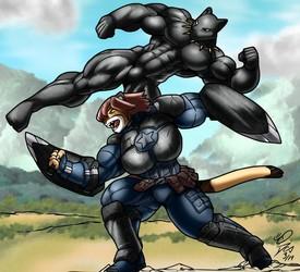 Furvengers: Black Yena!