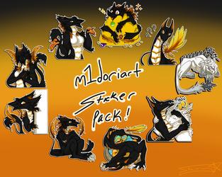 m1doriart Telegram stickers SET 4