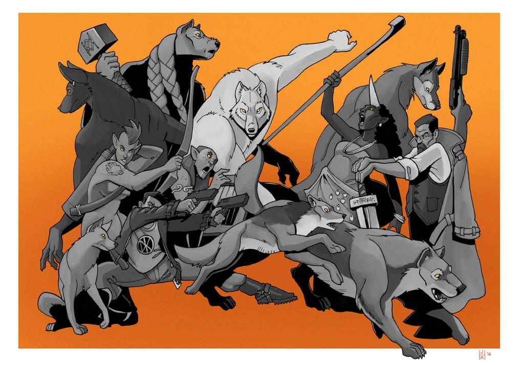 Werewolf the Apocalypse tribes!
