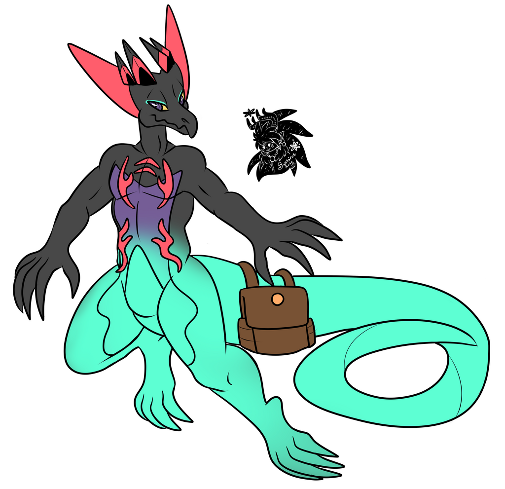 Salazapult +Flatcolored Commission+