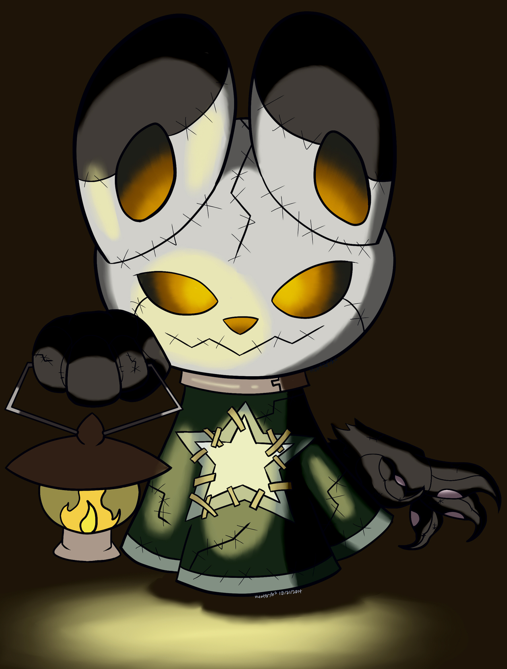 Emory Outfit 6 - Frankenghost Pandabunneh