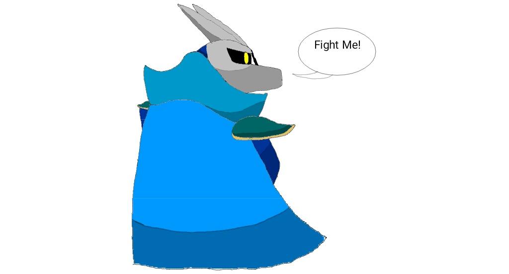 Meta Knight is a FRICKIN Dragon