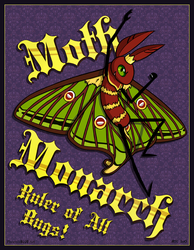 Moth Monarch: Ruler of All Bugs!