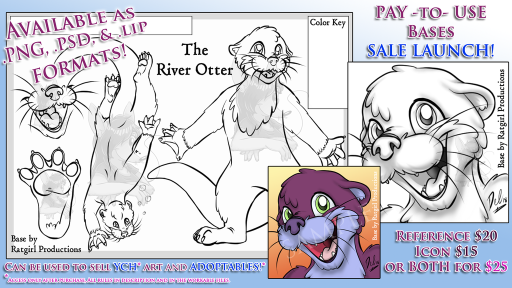 Pay to Use Base - River Otter 2018