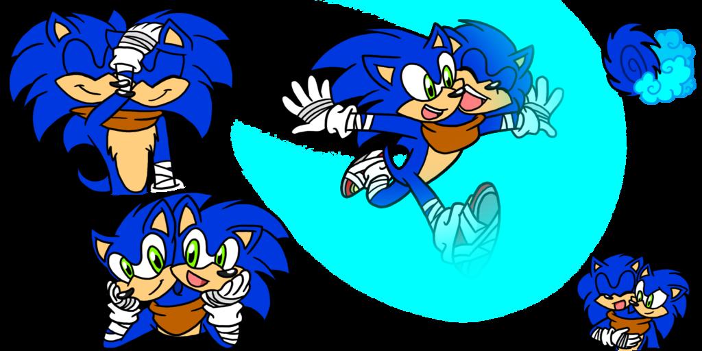Sonic Boom doodles 2