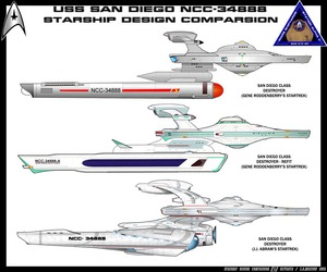 USS SAN DIEGO NCC-34888