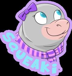 Squeaki badge