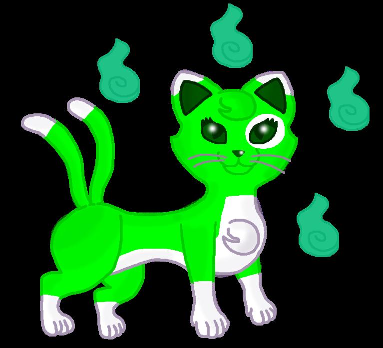 Emeraldia the Bakeneko?