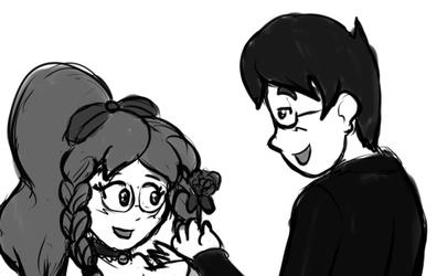 Sketchmission: A Flower for You