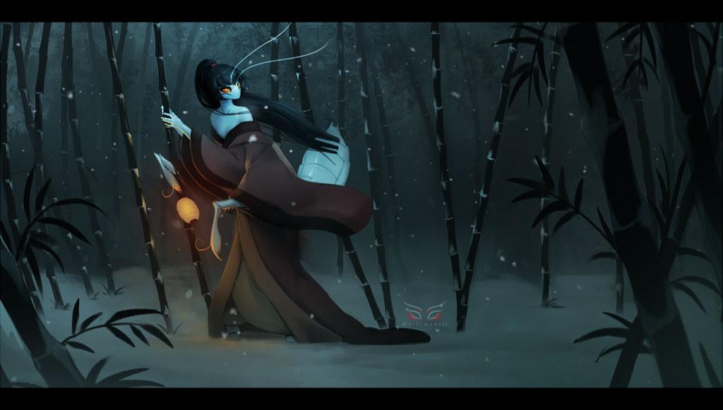 Featured image: Blade Under Mask: Silent Winter Child (Image)