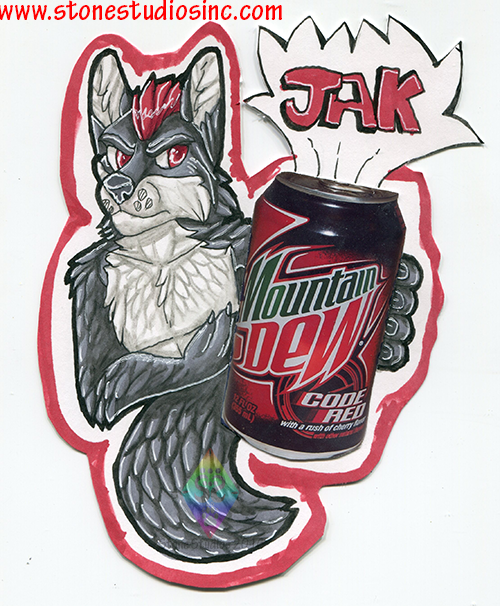 Jak Drink Badge Commish