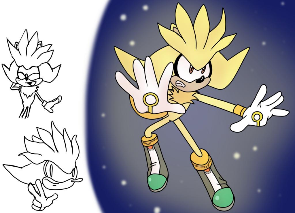 Mugi Draws Super Silver