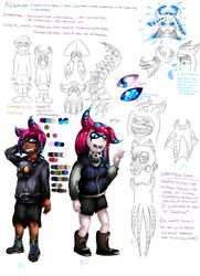 Vampire Squid Inklings Concept Art