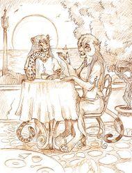 Le Cafe L'Orange - by Balaa
