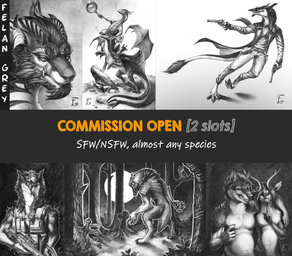 Most recent image: Commission open