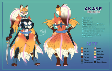 [Commission] Akane Refference Form 3