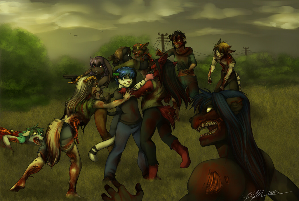 Commission_ THE WALKING DEAD