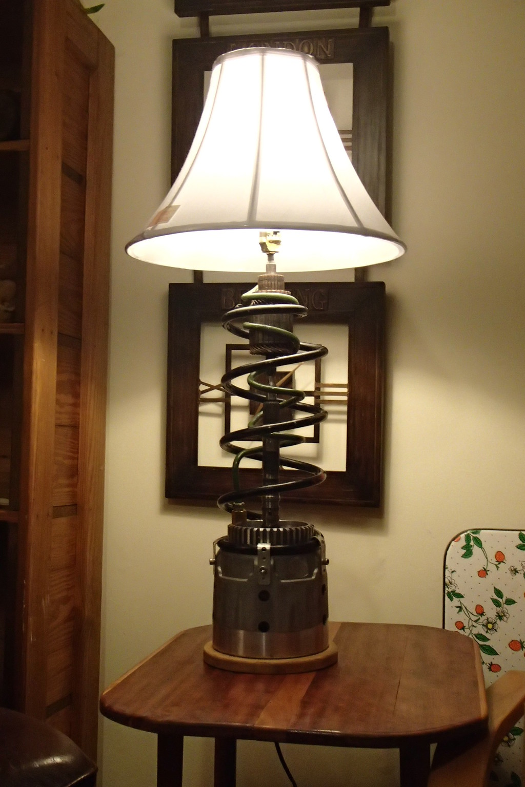 transmission coil spring lamp