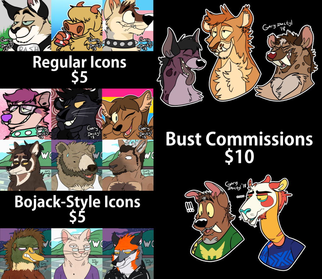 Current Open Commissions