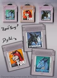 Gameboy Badges #1