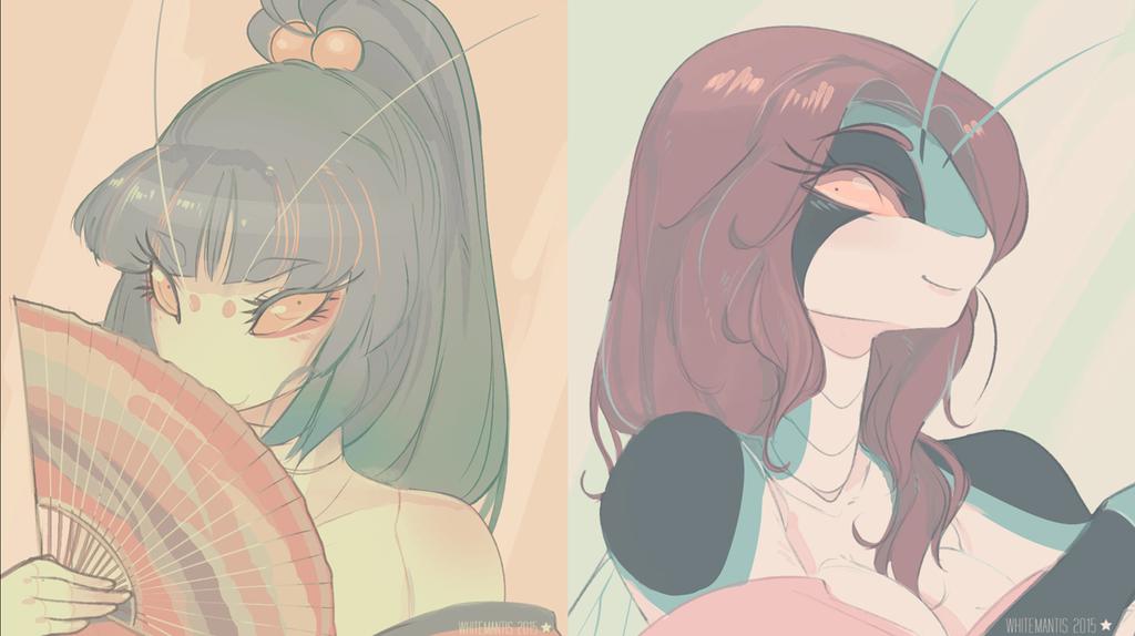 Nae and Miyo