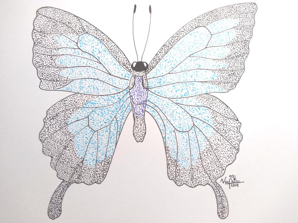 Inktober 11th 2019: Bug