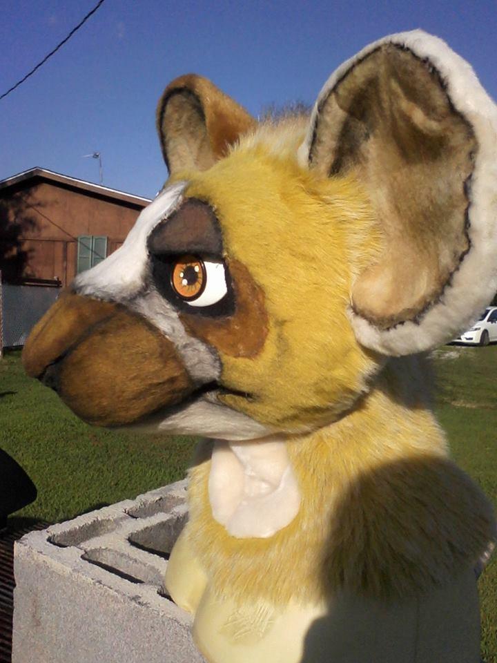 Most recent image: Rat Fursuit Head for Sale
