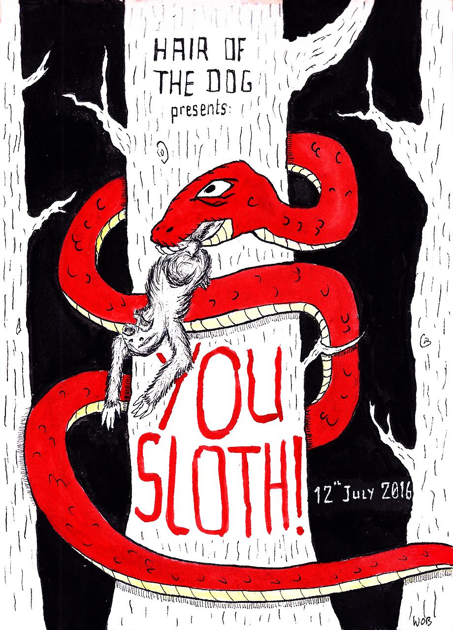 You Sloth!