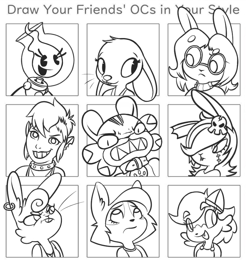 Draw Your Mutuals Meme