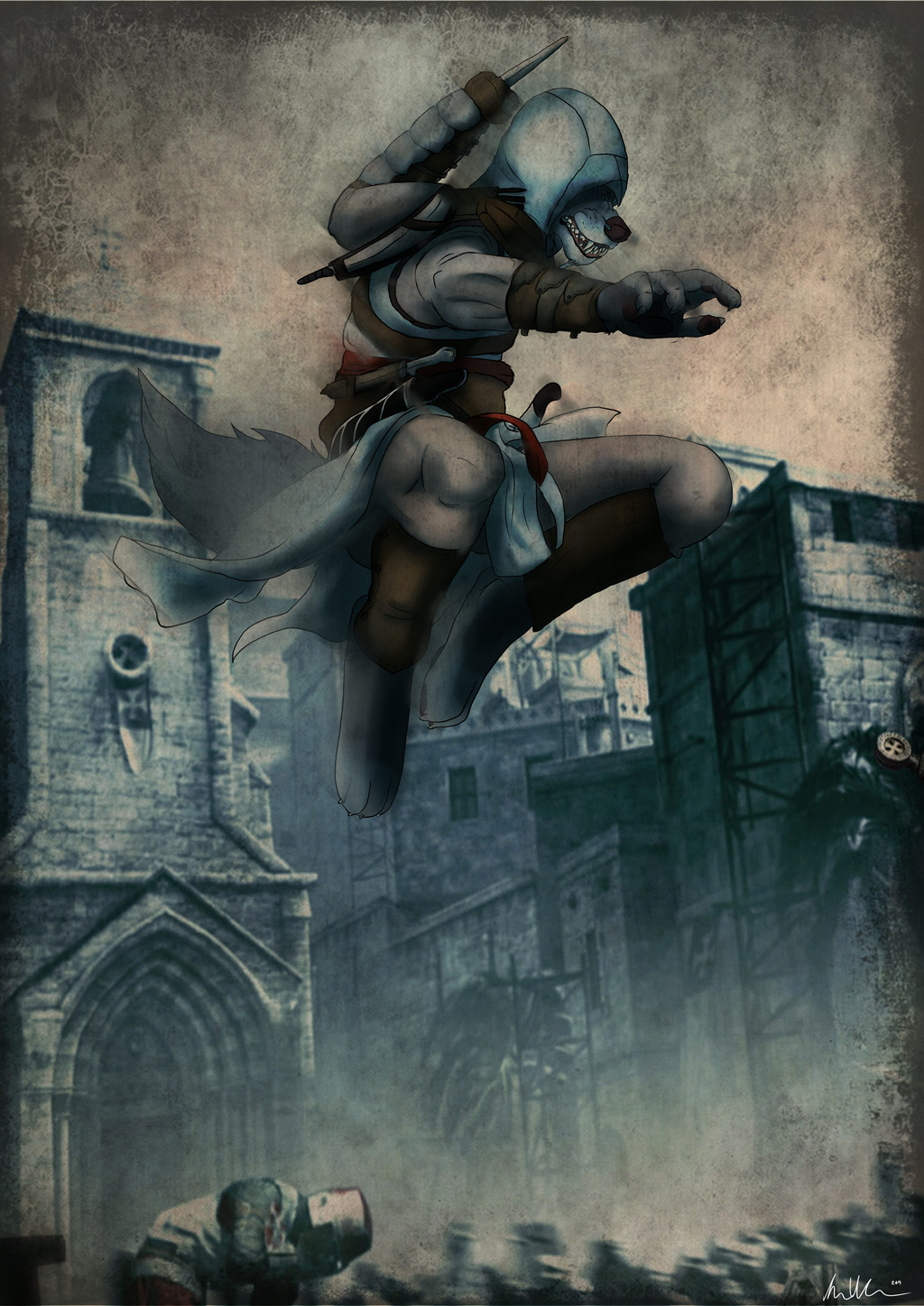 Assassin's creed wolfie