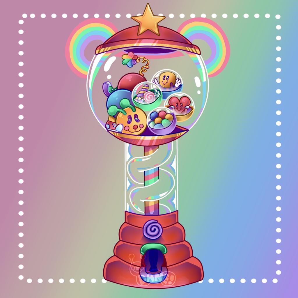 Bubbleworm Machine