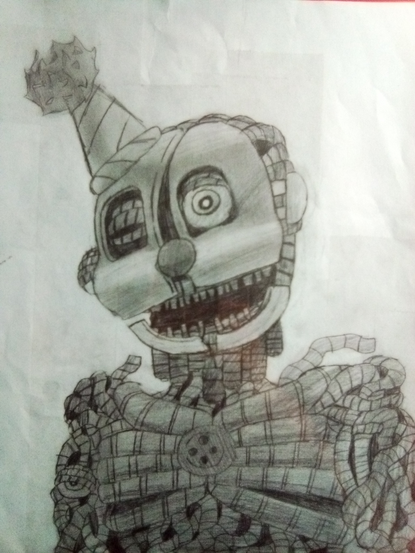 Ennard sketch(shaded)