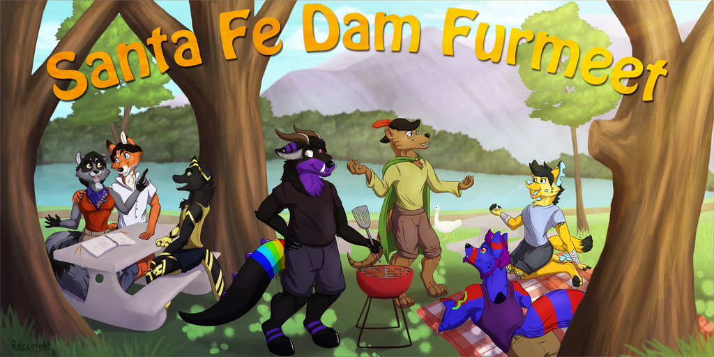 [f] Santa Fe Dam Furmeet Banner