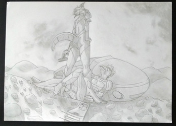 [Exam drawing] - Space Patrol