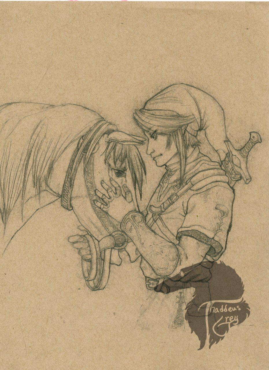 Link and Epona - For Sale!