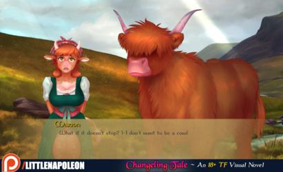 Changeling Tale Screenshot - Milk Maid Marion