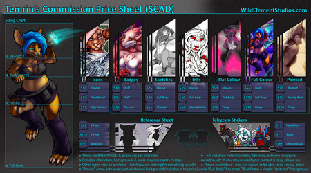 [NEW] Commission Prices + Form