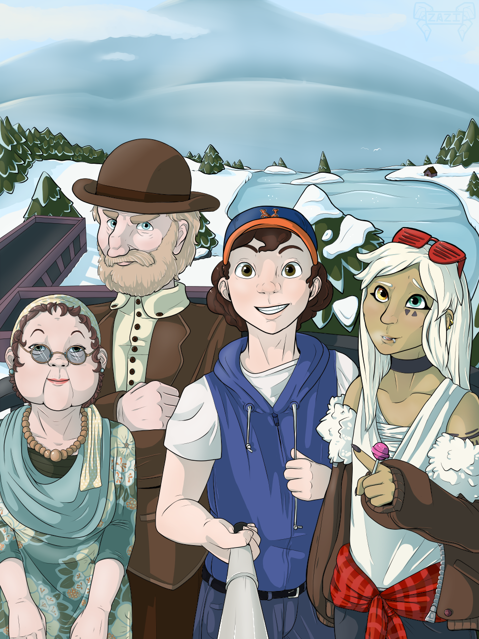 [Commission] Monster of the Week Crew