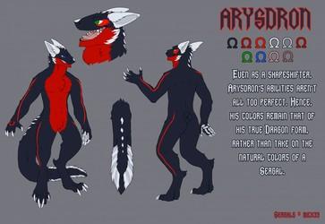 Arysdron Sergal Reference by shrimpmuffin