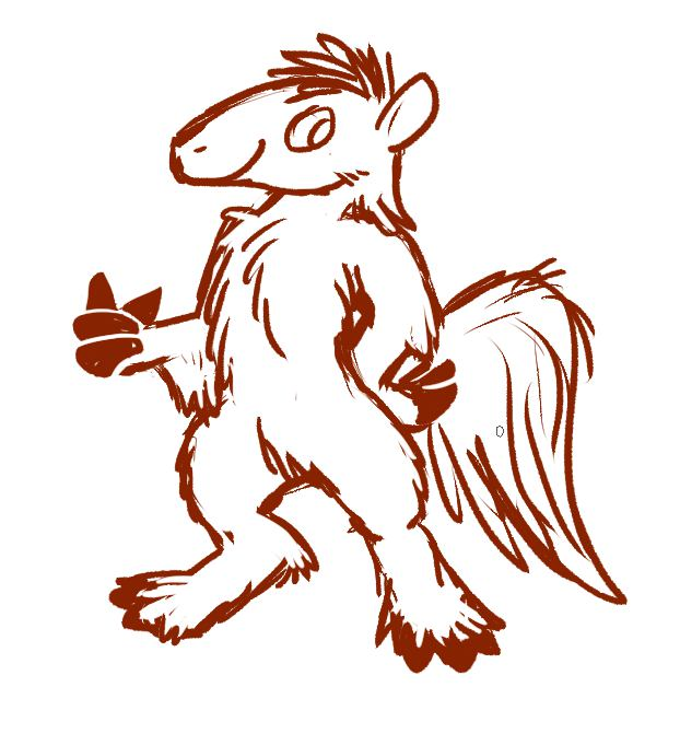 [Commission] Thumbs Up For Anteaters