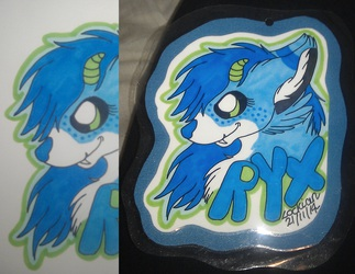 Headshot promarker con badge for Ryx/Rixie