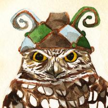 Strange Burrowing Owl
