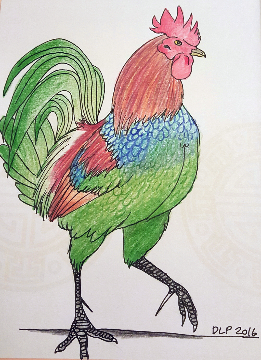 2017-Year of the Rooster