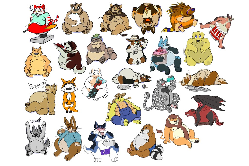 Chubby Doodle Sheet