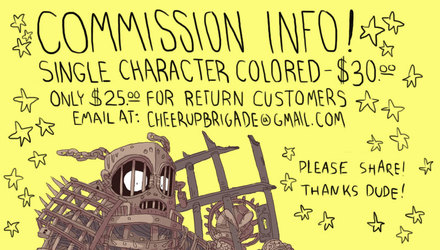 Commission Info!