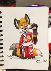 Kimono Fox